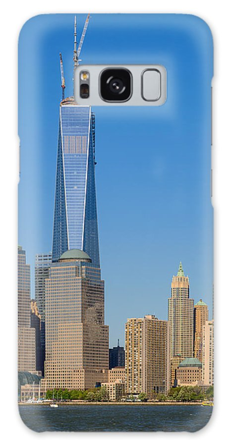 Architecture Galaxy S8 Case featuring the photograph Freedom Tower by Jan Gorzynik