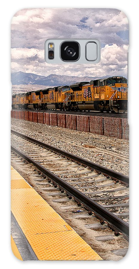 Freight Galaxy S8 Case featuring the photograph Freight Expectations Palm Springs by William Dey