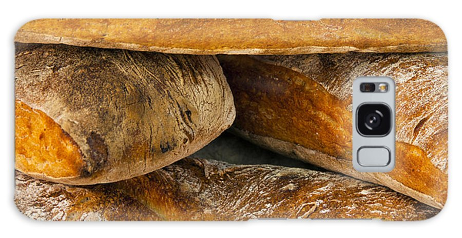 Market Day Apt Markets France French Bread Loaf Loaves Still Life Provence Galaxy S8 Case featuring the photograph French Loaves by Bob Phillips