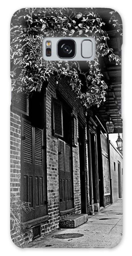 French Quarter Galaxy S8 Case featuring the photograph French Quarter Sidewalk by Andy Crawford