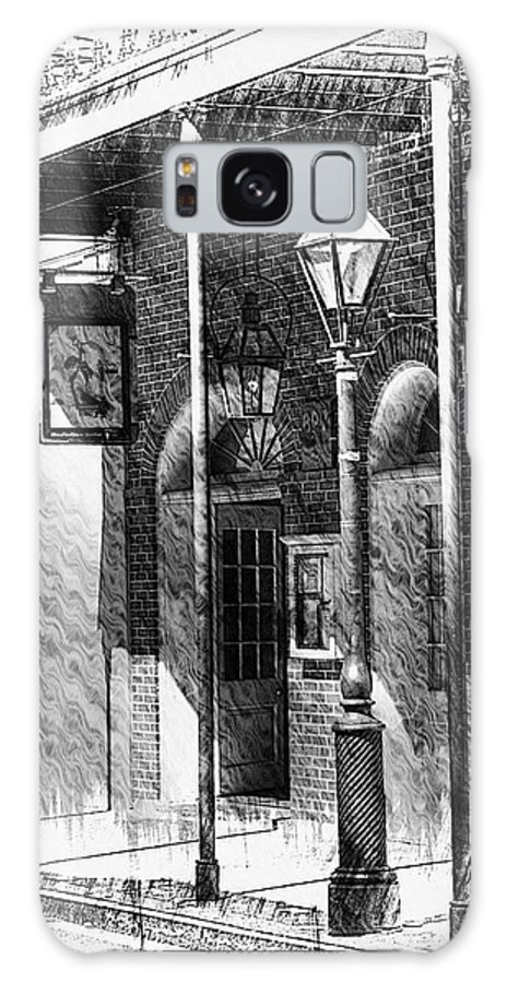 New Orleans Galaxy S8 Case featuring the photograph French Quarter Street Lamp by Greg and Chrystal Mimbs