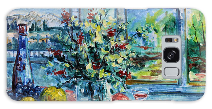 Impressionism Galaxy Case featuring the painting Fresh Spring by Leonard Holland