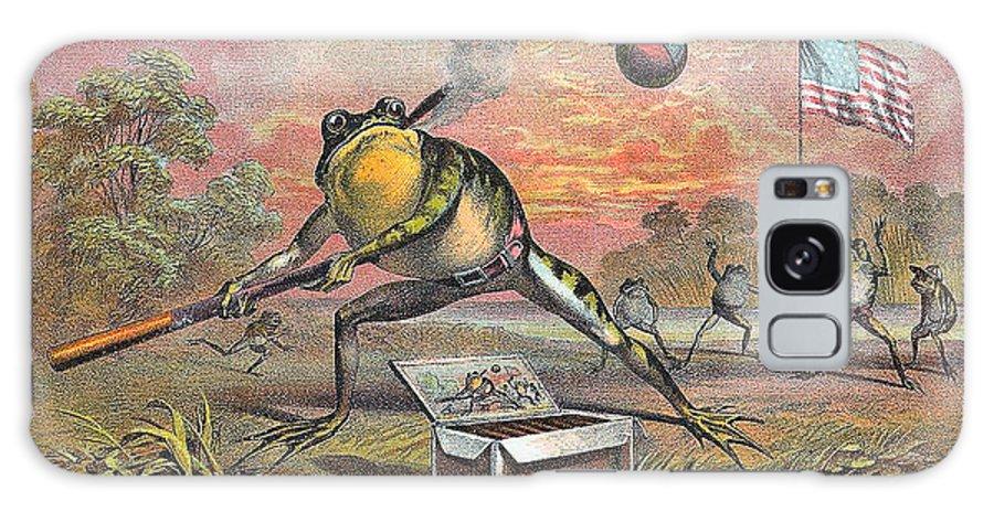 Studio Artist Galaxy S8 Case featuring the digital art Frog by Studio Artist