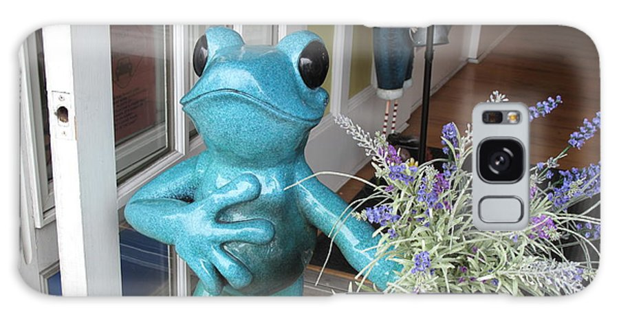 Frog Galaxy S8 Case featuring the photograph Frog Suitor by Barbara McDevitt