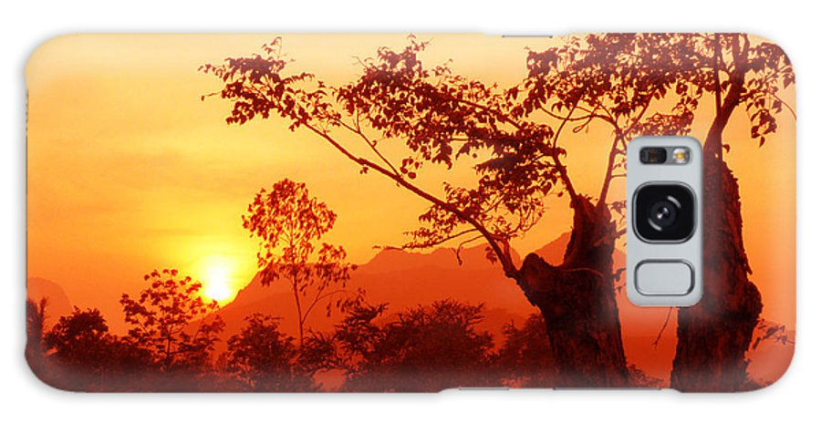Landscape Galaxy S8 Case featuring the photograph From Thailand With Love 03 by Pusita Gibbs