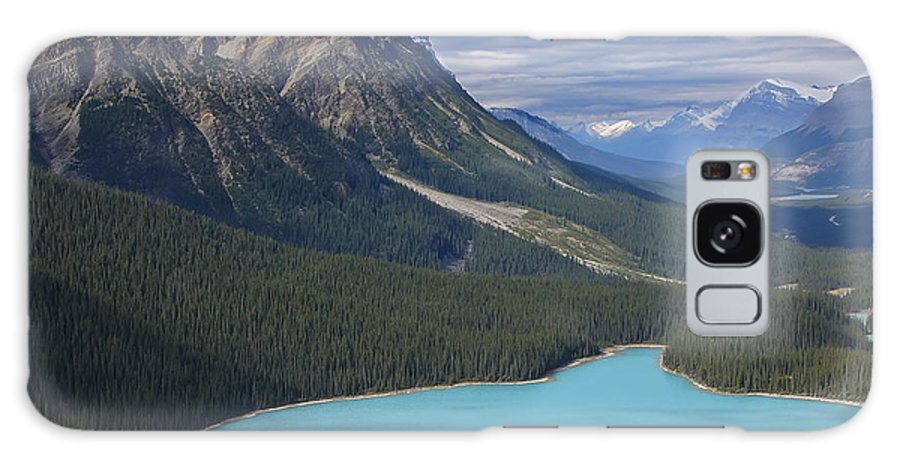 Photograph Galaxy S8 Case featuring the photograph From The Lookout by Rhonda McDougall