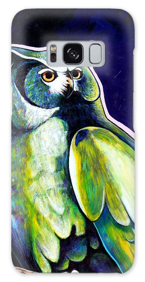 Owl Galaxy Case featuring the painting From The Shadows by Joe Triano