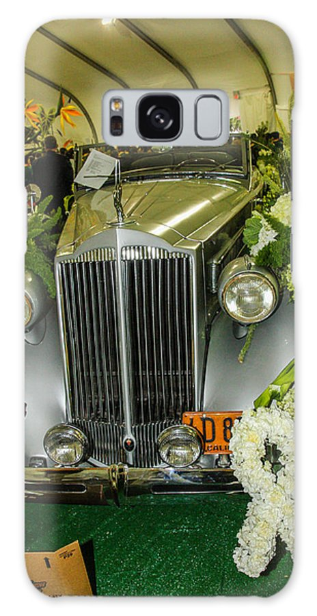 Rose Bowl Galaxy S8 Case featuring the photograph Front Of '36 Packard by Robert Hebert