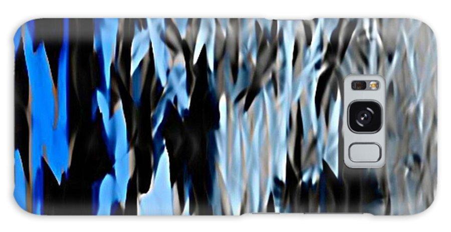 Frozen Zebra Galaxy S8 Case featuring the digital art Frozen Zebra by John Malone