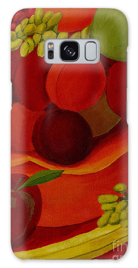 Fruit Galaxy S8 Case featuring the painting Fruit-still Life by Anthony Dunphy