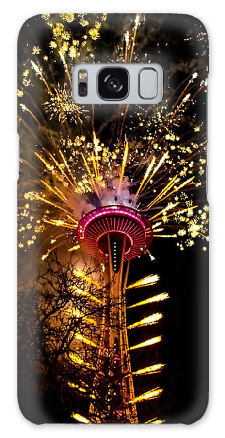 Seattle Galaxy S8 Case featuring the photograph Full Glory by Angus Hooper Iii