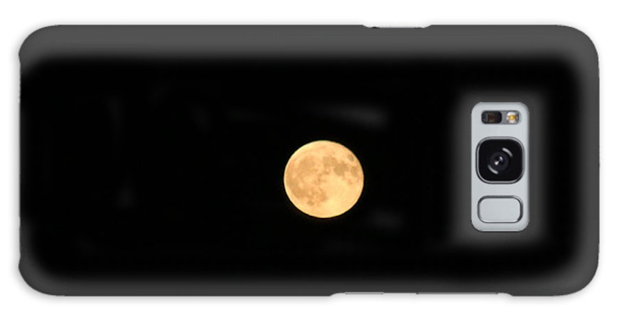 Moon Galaxy S8 Case featuring the photograph Full Moon Vision by Mish Sommers