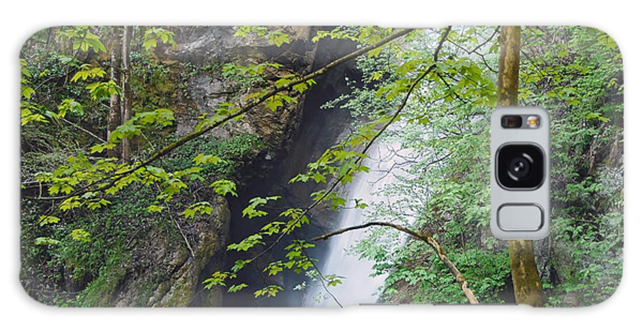 Water Galaxy S8 Case featuring the photograph Gainfeld Waterfall In Spring Austria by Ralph Brunner