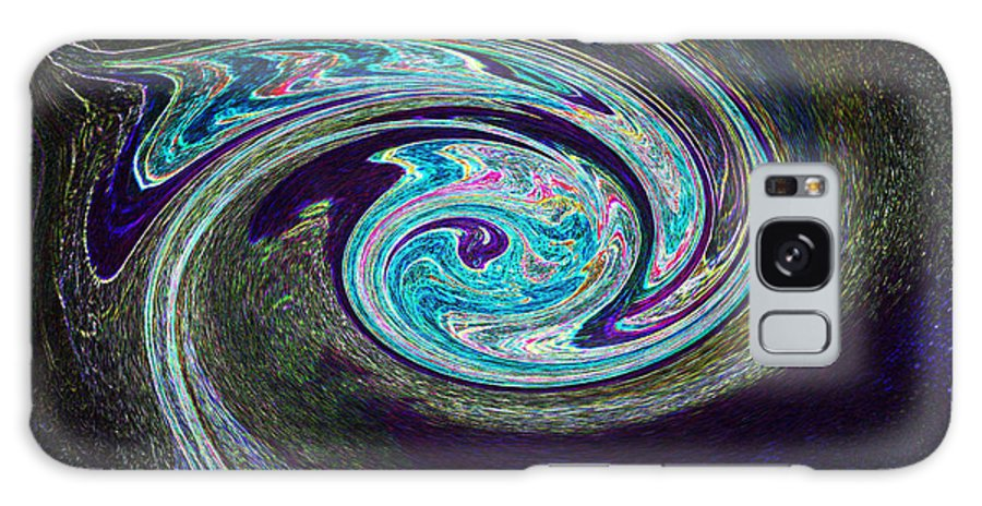 First Star Galaxy S8 Case featuring the painting Galaxy Birth 1 Conception by First Star Art