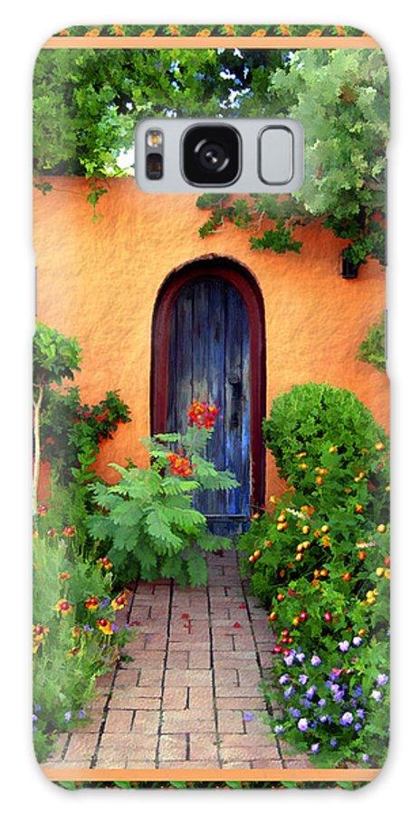 Garden Galaxy S8 Case featuring the photograph Garden Delights Mesilla by Kurt Van Wagner