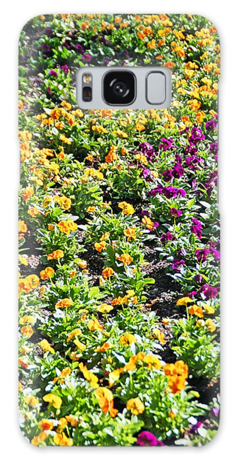 Flower Galaxy S8 Case featuring the photograph Garden Flowers by Aimee L Maher ALM GALLERY