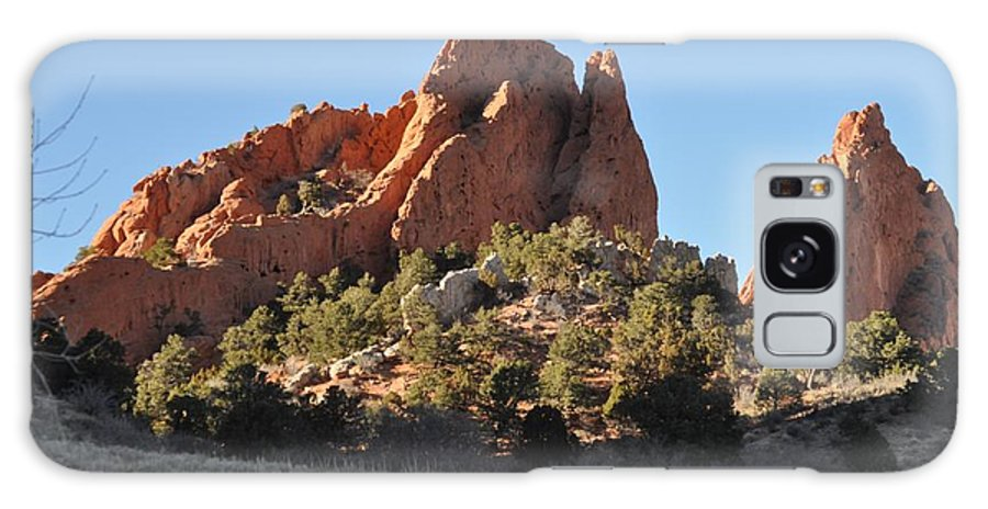 Garden Of The Gods Galaxy S8 Case featuring the photograph Garden Of The Gods by Teresa Howell