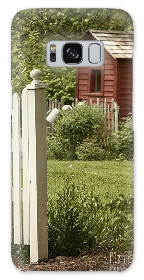 Shed Galaxy S8 Case featuring the photograph Garden's Entrance by Margie Hurwich