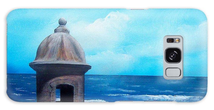 Garrita Del Diablo Galaxy S8 Case featuring the painting Garrita Del Diablo by Tony Rodriguez