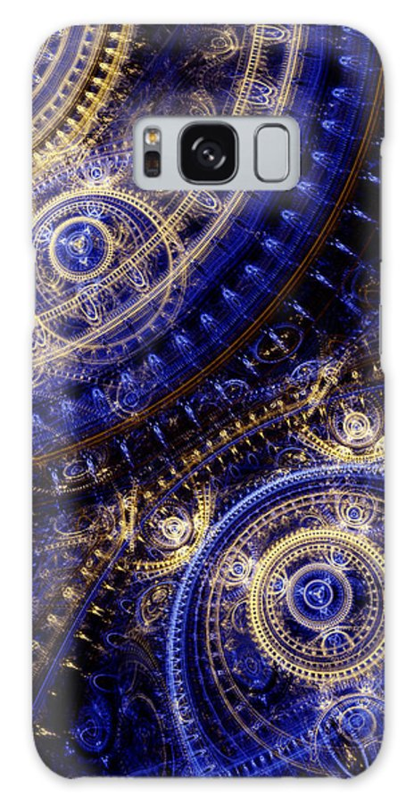 Doctor Who Galaxy S8 Case featuring the digital art Gears Of Time by Martin Capek