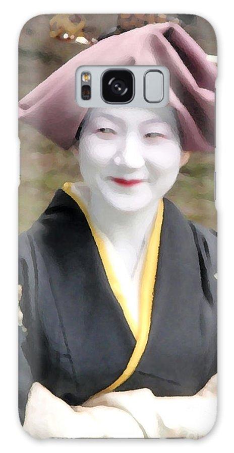 Geisha Galaxy S8 Case featuring the photograph Gei by Jack Gannon