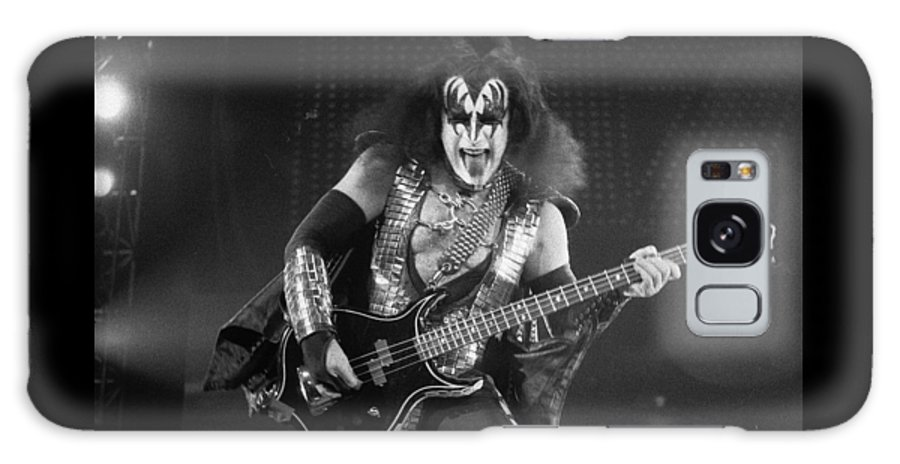 Gene Simmons Galaxy S8 Case featuring the photograph Gene Simmons by Timothy Bischoff