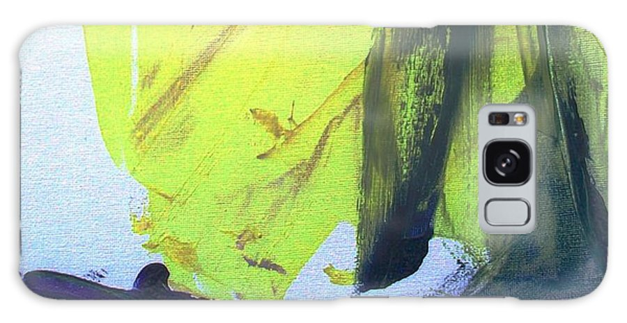 Sails Galaxy Case featuring the painting Gently Napping by Bruce Combs - REACH BEYOND
