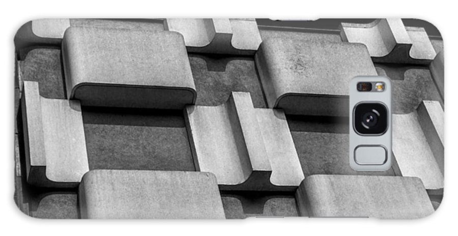 Paris Galaxy S8 Case featuring the photograph Geometric Building by Paul Eggermann