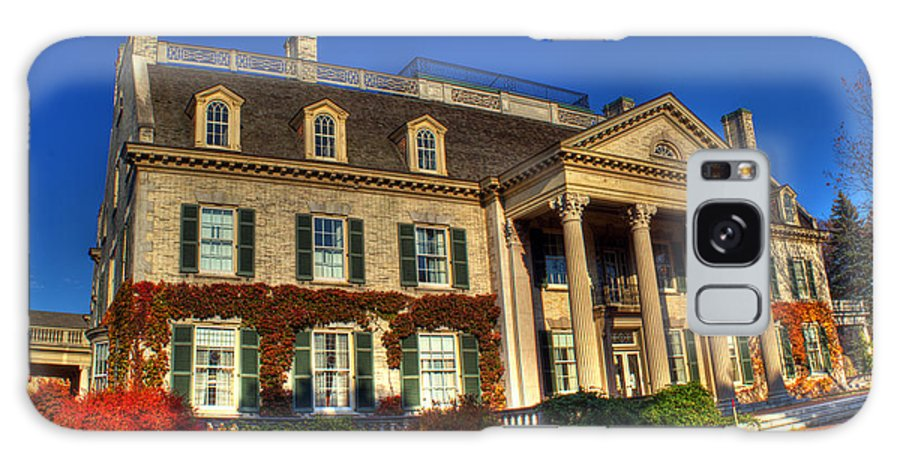 Mansion Galaxy S8 Case featuring the photograph George Eastman House Hdr by Tim Buisman