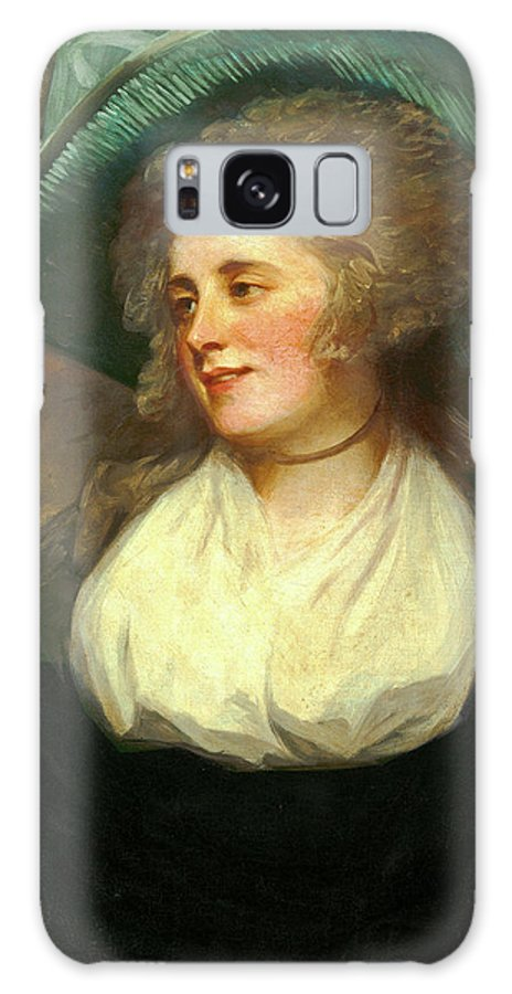 George Galaxy S8 Case featuring the painting George Romney, British 1734-1802, Lady Arabella Ward by Litz Collection