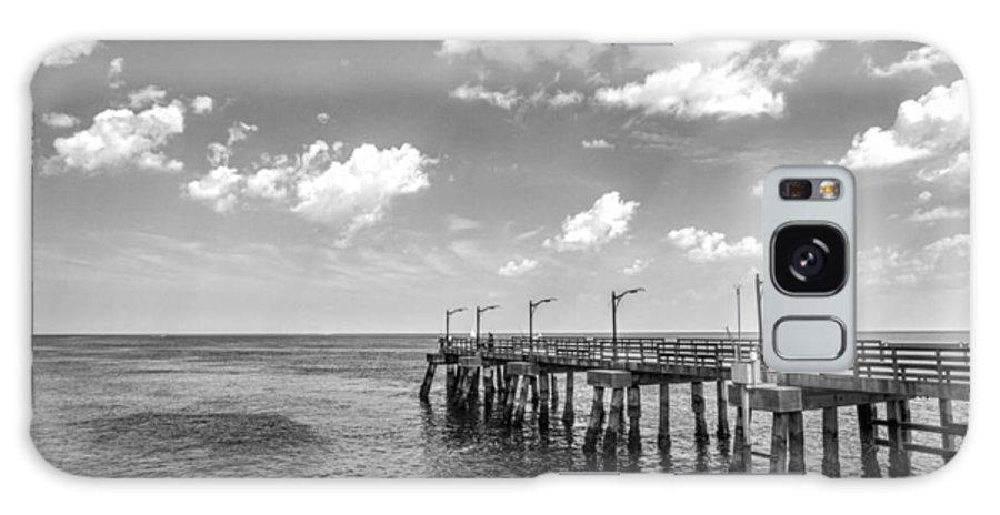 St Galaxy S8 Case featuring the photograph Georgia's St Simon's Island Pier by Kathy Clark
