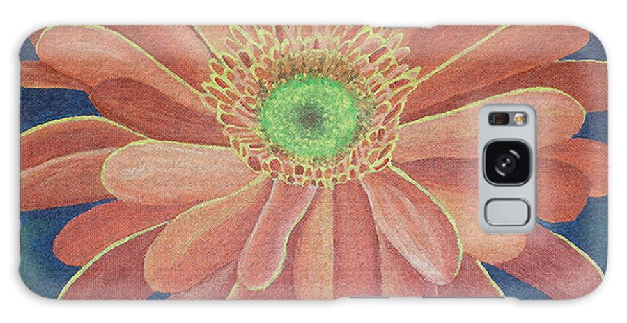 Flora Galaxy S8 Case featuring the painting Gerbera by Megan Washington