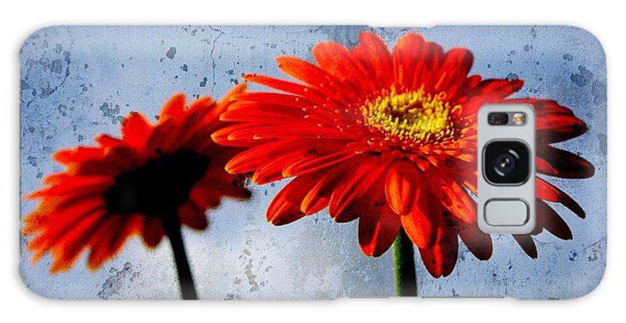 Flower Galaxy S8 Case featuring the photograph Gerberas by Gabi Siebenhuehner