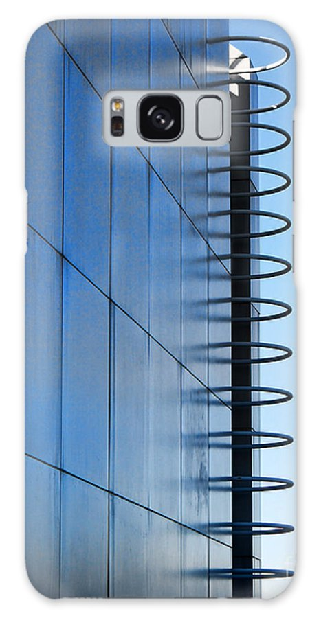 The Getty Center Galaxy S8 Case featuring the photograph Getty Center Ladder by Norma Warden
