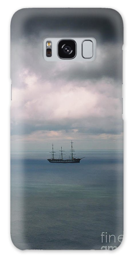 Water Galaxy S8 Case featuring the photograph Ghost Ship by Margie Hurwich