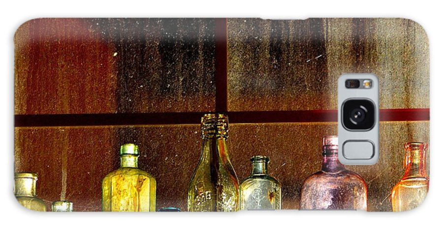 Old Galaxy S8 Case featuring the photograph Ghostly Bottles by Vivian Sampson