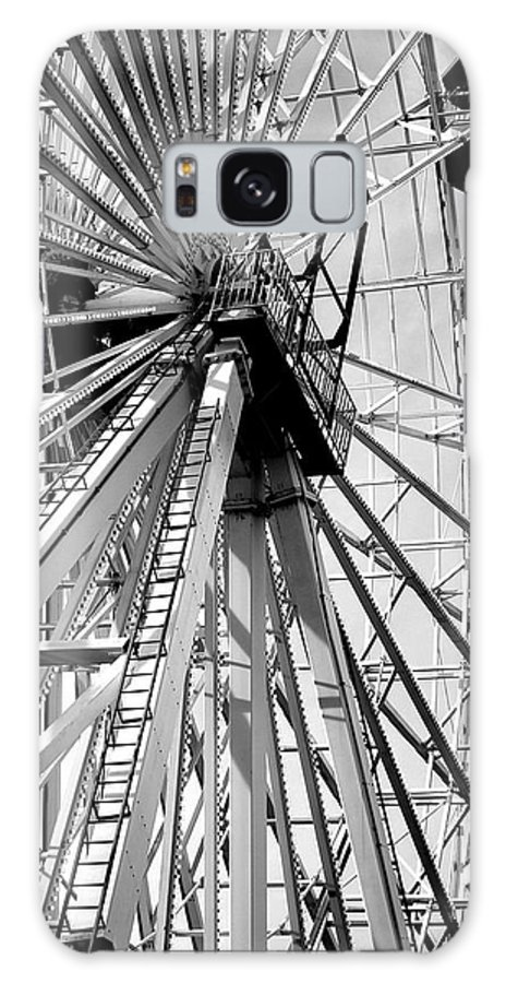 Giant Ferris Wheel Galaxy S8 Case featuring the photograph Giant Wheel by Mary Beth Landis
