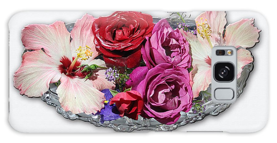 Flower Arrangement Galaxy S8 Case featuring the photograph Ginnies Summer Flower Arrangement by Michael Johnk