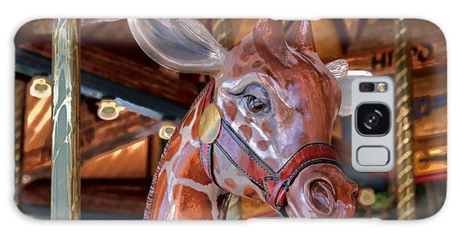 Giraffe Galaxy S8 Case featuring the photograph Giraffe Ride by Lynn Sprowl