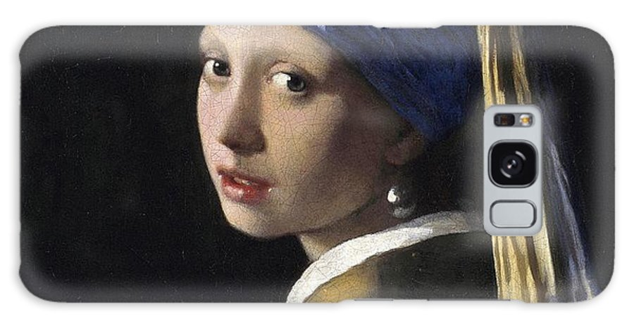 Johannes Vermeer Galaxy S8 Case featuring the painting Girl With A Pearl Earring by Johannes Vermeer