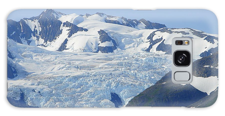 Alaska Galaxy S8 Case featuring the photograph Glacier 12 by Lew Davis