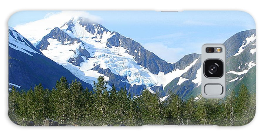 Alaska Galaxy S8 Case featuring the photograph Glacier 4 by Lew Davis