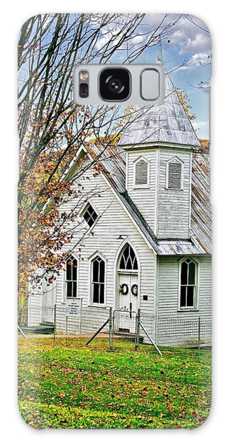 Glady Galaxy S8 Case featuring the photograph Glady Presbyterian by Steve Harrington