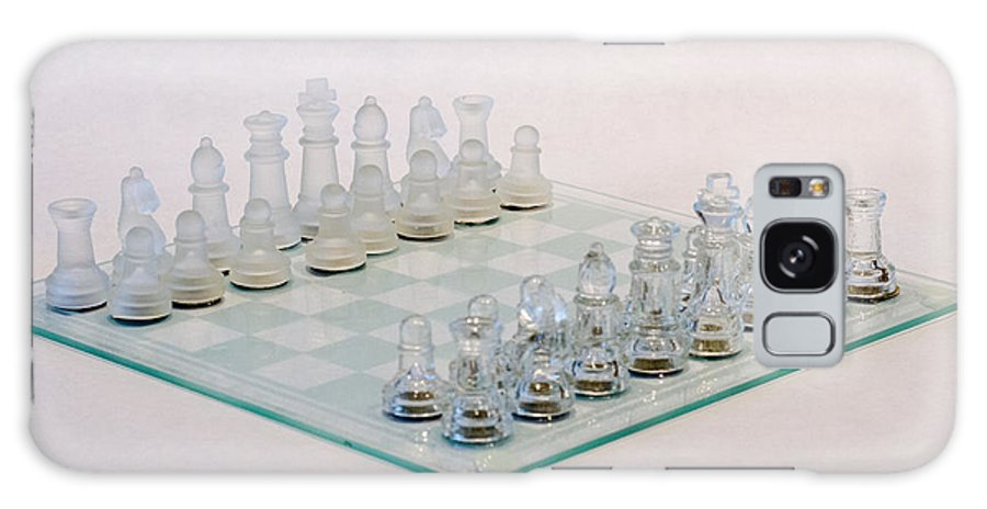 Chess Galaxy S8 Case featuring the photograph Glass Chess by J Darrell Hutto