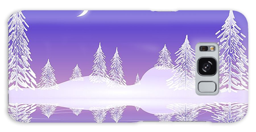 Cool Galaxy S8 Case featuring the digital art Glass Winter by Anastasiya Malakhova