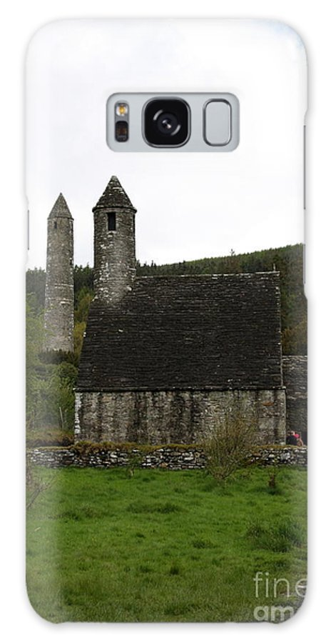Cloister Galaxy S8 Case featuring the photograph Glendalough Cloister Ruin - Ireland by Christiane Schulze Art And Photography