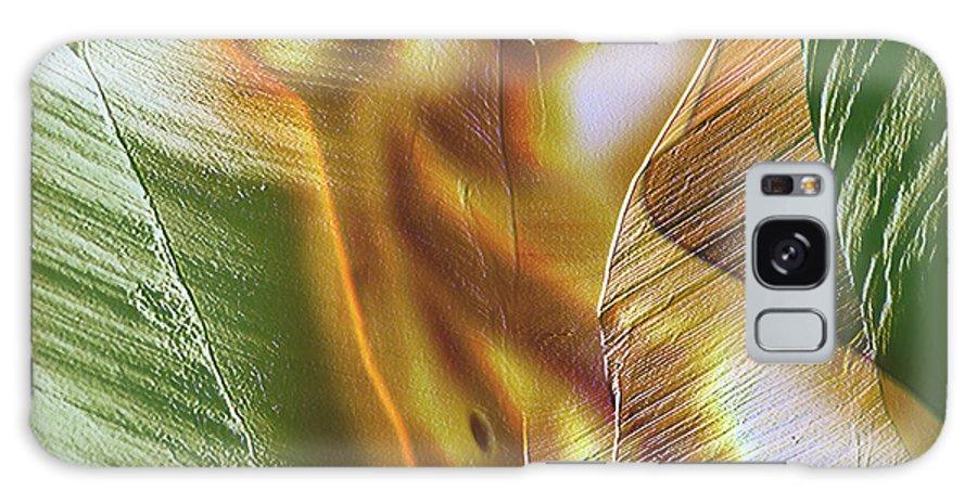 Erotica Galaxy S8 Case featuring the digital art Glowing Naiad by Joel Mariano