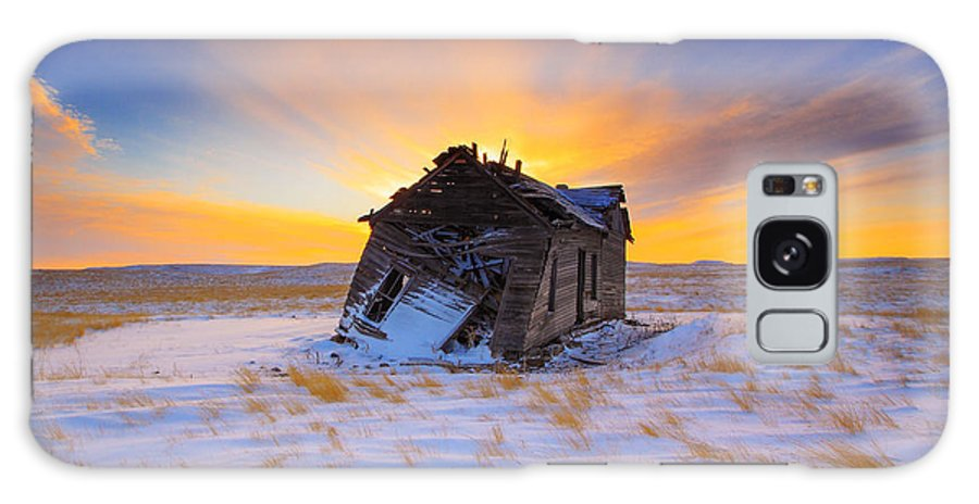 Old Galaxy Case featuring the photograph Glowing Winter by Kadek Susanto