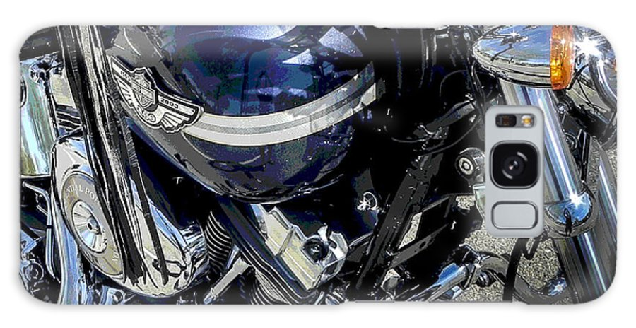 Harley Davidson Galaxy S8 Case featuring the photograph Go With God by Chuck Re