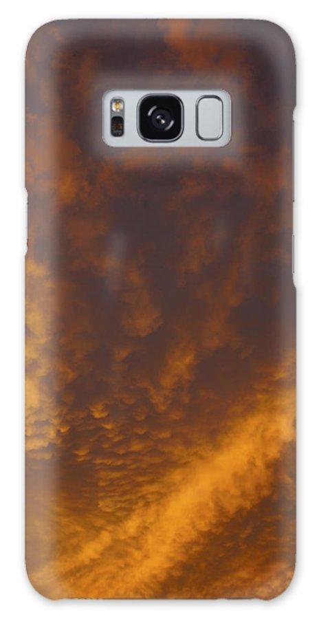 Sunset Galaxy S8 Case featuring the photograph Gods Canvas by Tayne Hunsaker